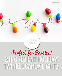 Candy Christmas Lights 2 Ingredient Twinkle Light Candies