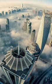 Wallpaper Dubai Cityscape Skyline 4k ...