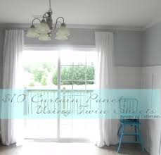 Kitchen Window Curtain Panels Curtains With None Coverings Window Curtains For Kitchen French