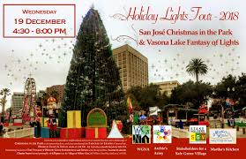 Vasona Holiday Lights Holiday Lights Tour Willow Glen Neighborhood Association