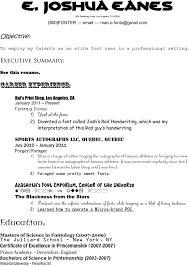 Best Resume Font Size
