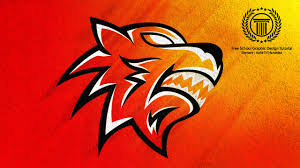 Youtube Logo Design Free Illustrator Esports Tiger Mascot Logo Design Tutorial Sport Team Jaguar Logo Illustrator Cc