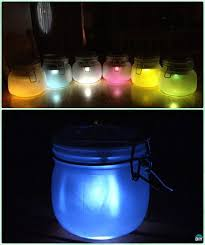 diy colored mason jar solar lantern light tutorial diy solar inspired solar light lighting ideas