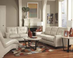 Taupe Living Room Furniture Benchcraft Paulie Durablendar Taupe Contemporary Sofa With Tufted