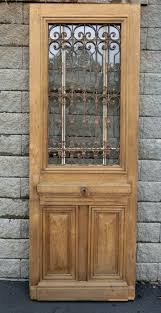 french oak iron door a11829