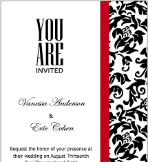 Pages Invitation Templates Free