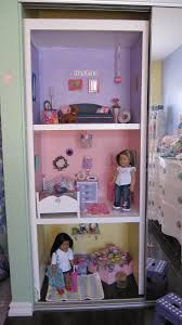 American Girl Doll House - using closet space. i totally have room to do  this