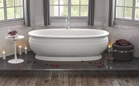 aquatica olympian by savio roman freestanding solid surface bathtub