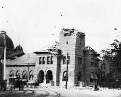 Click on the word map or map to see a map displaying the earthquake. 1906 Earthquake Damaged San Jose Post Office Calisphere