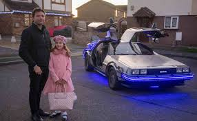 Dad Spends 1,200 Hours Renovating '<b>Back to the</b> Future' Car So He ...