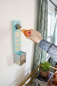 how to easy wall mounted bottle opener