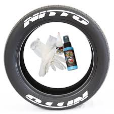 Nitto Tire Lettering Kit
