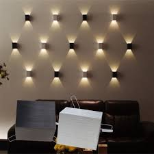 wall lighting for bedroom. 3W LED Square Wall Lamp Hall Porch Walkway Bedroom Livingroom Home Fixture Light #Modern Lighting For