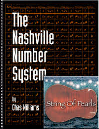 Nashville Number Chart Template The Nashville Number System By Chas Williams