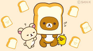 cartoon bread wallpaper. Brilliant Wallpaper Bread Icon Rilakkuma Wallpaper Kawaii Stuff Sanrio Iphone Wallpapers  Comedy Bakery Babys Cartoons For Cartoon Wallpaper T