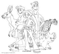 Small Picture Wild Kratts Coloring Pages Only Coloring Pages Coloring Home