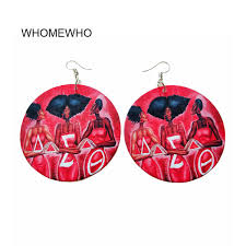 2019 <b>Wood Round Tropical Africa</b> Red Weird Signs Triangle Chic ...