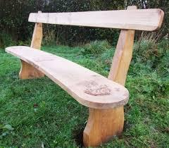 tables garden sculpture wooden mushroom