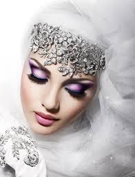 beautiful arabic bridal makeup