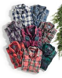 Mens Designer Flannel J Crew Mens Midweight Flannel Shirt Men Casual Mens