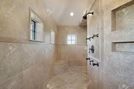 Open Shower Bathroom Open Shower Bathroom Home Design Website Ideas