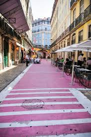 Red Light District In Portugal Lisbons Rua Nova Do Carvalho From Red Light District To