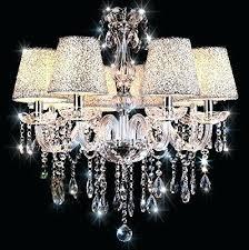 ceiling fan with crystal chandelier light kit on semi flush ceiling ceiling fan chandelier light kit