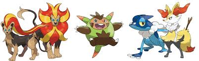 Pokemon X And Y Evolution Chart Best Picture Of Chart