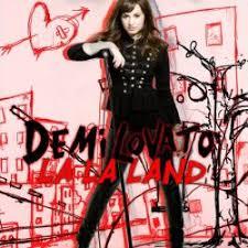 la la land demi lovato album cover. TheGoddessOfLove  Demi Lovato La Land By SPEAKERnight On Album Cover
