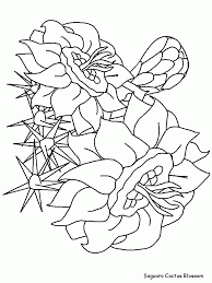 Small Picture flower Page Printable Coloring Sheets Printable Saguaroblossom