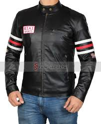 boys black motorcycle jacket