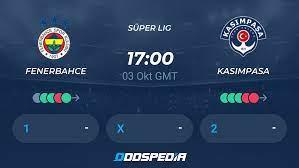 Fenerbahce - Kasimpasa » Live Stream & Ticker + Quoten, Statistiken, News