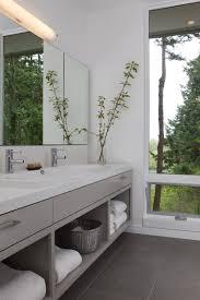 Open Shelf Vanity Bathroom 15 Examples Of Bathroom Vanities That Have Open Shelving