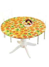fitted outdoor tablecloth patterned vinyl tablecloths round