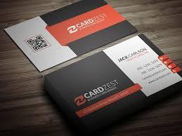 Professional Business Card Templates Modern Corporate Professional Business Card Template Flickr
