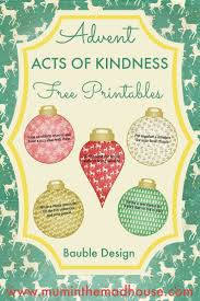 Free Advent Acts of Kindness Printable - 2016 Design Advent acts of  kindness free printables in