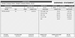 Check Stub Template Free Download Salary Pay Stub Template Free Download
