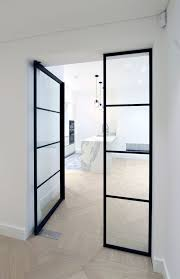 interior glass door. Fine Door IQ Glass Recently Installed Their New Mondrian Internal Doors To This  Modern Home These Steel Framed Give The Home A Art Deco Design And  Throughout Interior Door