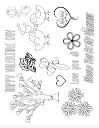 Looking for valentine's day coloring pages for your classroom or to print out at home? Have Fun With Free Printable Valentine S Day Coloring Pages