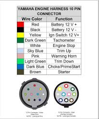 mercury 8 pin wiring harness diagram mercury image mercury marine wiring color code chart jodebal com on mercury 8 pin wiring harness diagram