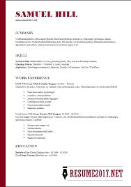 Simple Resume Template 2018 Stunning Simple Resume Layouts Examples Of A Basic Resume Simple Resume