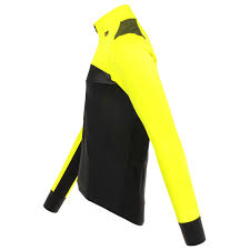 Bioracer Spitfire Tempest Protect Winter Jacket Fluo Cycling Jacket Fluo Yellow S