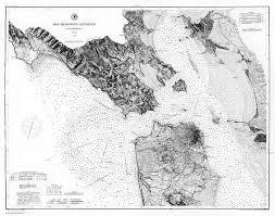 San Francisco Bay Antique Nautical Chart Google Search