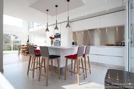 Cuisine Blanche Design Armony Daumesnil Finition Extrême Blanc