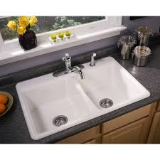 granite kitchen counter with drop in sink wood drop in kitchen sink no holes
