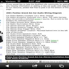 pontiac grand am wiring harness 2001 pontiac grand am stereo wiring harness 2001 wiring diagram for pontiac grand am the wiring