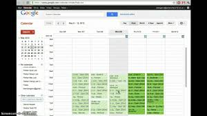 Sign Up Calendar Template Computer Lab Sign Ups W Google Calendar Youtube
