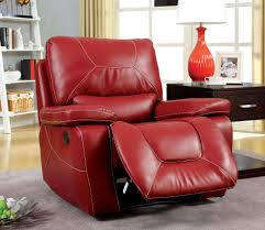 red leather reclining sofa. Stunning Red Leather Recliner Chair Reclining Sofa S