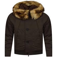 armani jeans green faux fur trim hooded jacket