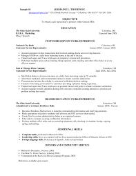 Server Resume Objective Resume For Your Job Application